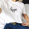 T-SHIRT CAMISETA FEMININA MANGA CURTA HOPE