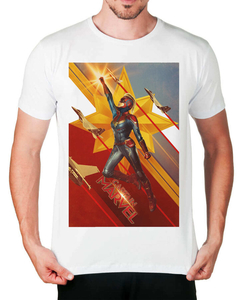 Camiseta Capitã Marvel na internet