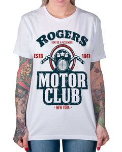 Camiseta Rogers Motor Club na internet