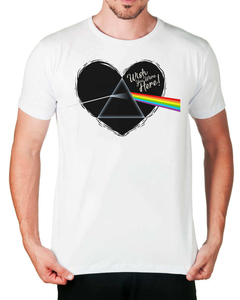 Camiseta Dark Side of the Heart na internet