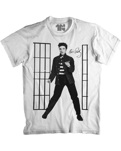 Camiseta Elvis Jail