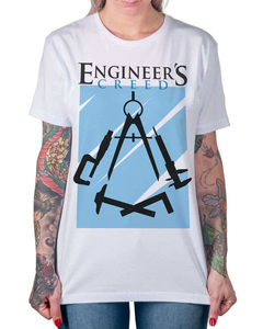 Camiseta Engineers Creed na internet