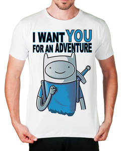 Camiseta I Want You For An Adventure - comprar online