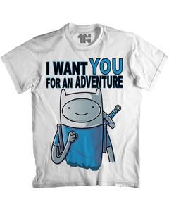 Camiseta I Want You For An Adventure