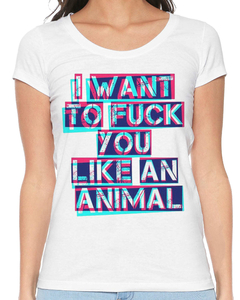 Camiseta Feminina Like a Animal