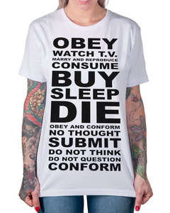Camiseta OBEY na internet