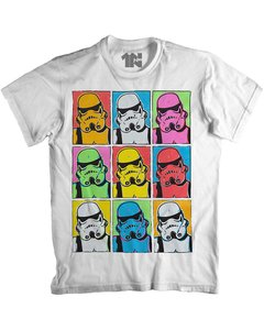 Camiseta Trooper Warhol