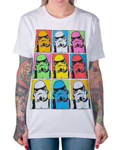 Camiseta Trooper Warhol na internet