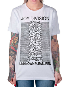 Camiseta Unknown Pleasures na internet