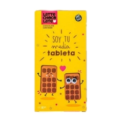 "Latte Chocolate ""Soy tu media tableta"" - comprar online"