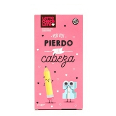 "Latte Chocolate ""Por vos pierdo la cabeza"""