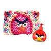 Tabla Rectangular MEDIANA 20X30 ANGRY BIRDS CON JABÓN LIQUIDO PARA MANOS