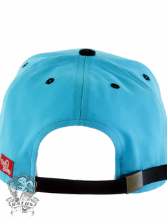 Boné This way Strapback Logo Bordado Blue - Ratus Skate Shop