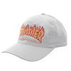 Boné Thrasher Aba Curva Dad Hat White