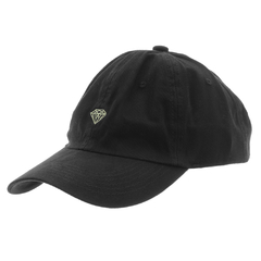 Boné Diamond Aba Curva Dad Hat Micro Brilliant Black