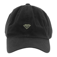 Boné Diamond Aba Curva Dad Hat Micro Brilliant Black - comprar online