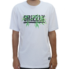 Camiseta Grizzly Seeds Stamp White