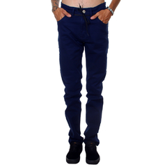 Calça Santa Cruz Sarja Skate Fit Navy Hold On