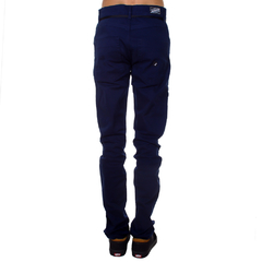 Calça Santa Cruz Sarja Skate Fit Navy Hold On na internet