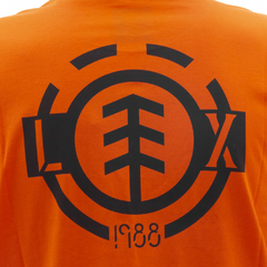 Camiseta Element L.Xaparral Tee Orange - Ratus Skate Shop