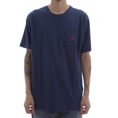 Camiseta Vans Pocket Blue
