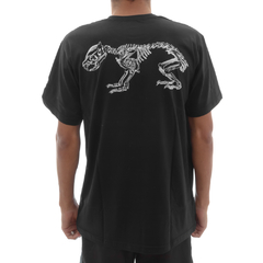 Camiseta Ratus Mouse Bones Black na internet