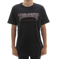 Camiseta Thrasher X Independent Time to Grind Black