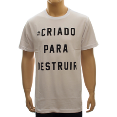Camiseta Drop Dead CPD White