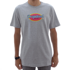Camiseta Drop Dead Old Dot Mescla