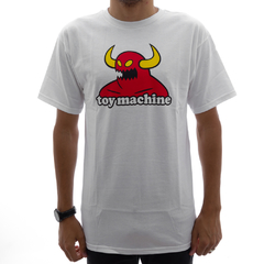 Camiseta Toy Machine Monster White