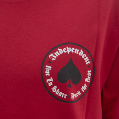 Camiseta Thrasher X Independent Oath Red - comprar online