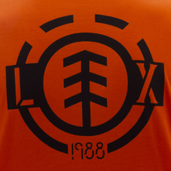 Camiseta Element M/L L.Xaparral Orange - Ratus Skate Shop