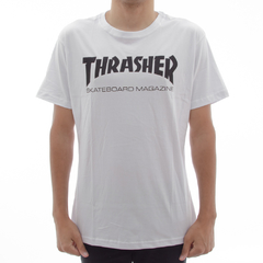 Camiseta Thrasher Mag White na internet