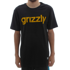 Camiseta Grizzly Lower Case Black