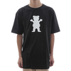 Camiseta Grizzly Bear Logo - Black