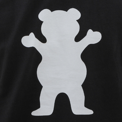 Camiseta Grizzly Bear Logo - Black - comprar online