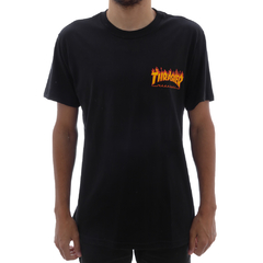 Camiseta Thrasher Flame Botton