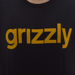 Camiseta Grizzly Lower Case Black - comprar online