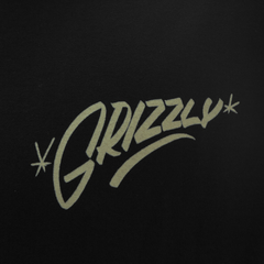 Camiseta Grizzly Sinage Black - comprar online