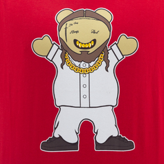 Camiseta Grizzly Malone Red - comprar online