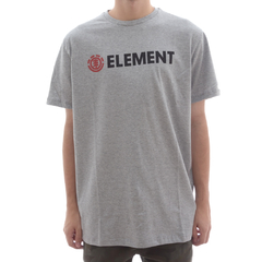 Camiseta Element Blazin Cinza Mescla