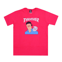 Camiseta Thrasher Mag Gonz Cover Pink