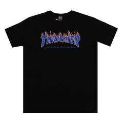 Camiseta Thrasher Mag America In Flame