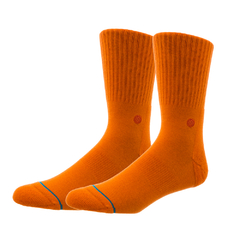 Meia Stance Icon Orange