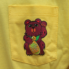 Camiseta Grizzly Lucky Bear Yellow - comprar online