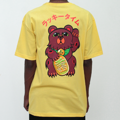 Camiseta Grizzly Lucky Bear Yellow na internet