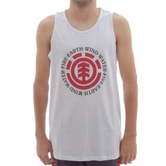 Camiseta Element Regata Seal White