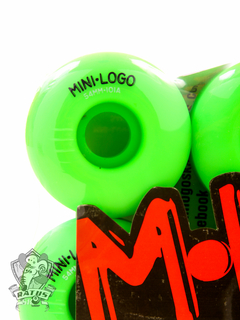 Roda Mini Logo Color Grn 53MM