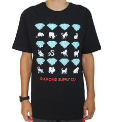 Camiseta Diamond Zodiac Black