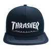 Boné Thrasher Mag Trucker White